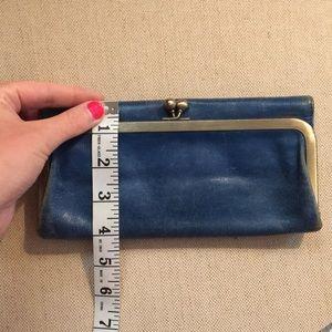 8695593522fd HOBO Bags - HOBO Rachel Trifold Wallet Indigo Blue